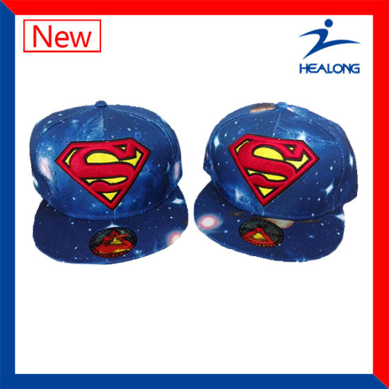 1d075dc686f Healong Brand Logo Sports Clothing Gear Embroidery Logo Sublimation Men′s  Caps pictures   photos