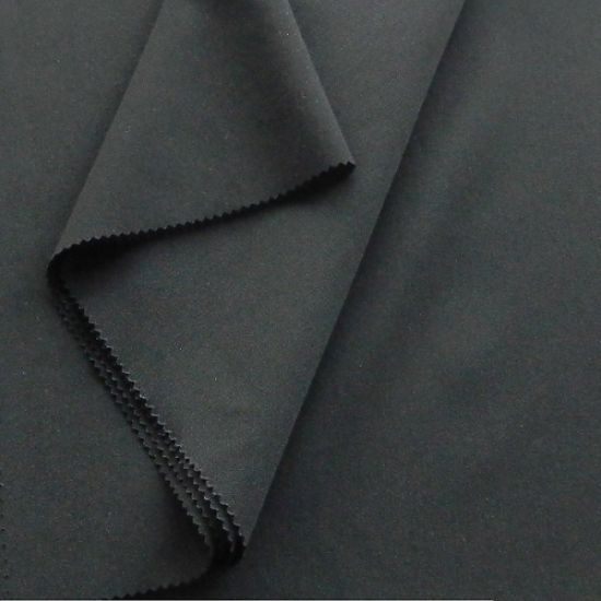 TTR Plain Structure Polyester Rayon Spandex Fabric 208GSM