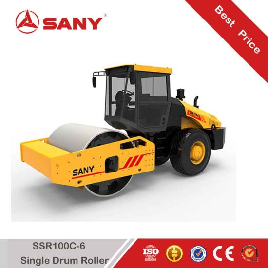 Sany SSR100c-6 SSR Series 10ton Single Drum Vibratory Roller pictures & photos