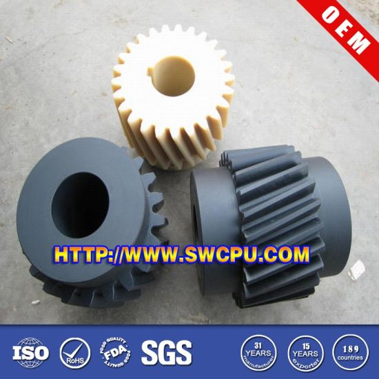 Customized Various Size Different Colors Mc Nylon Plastic Worm Gear