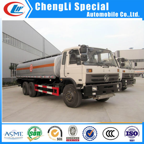 Dongfeng 6X4 18cbm Petrol Tanker Transport Fuel Truck for Sale pictures & photos