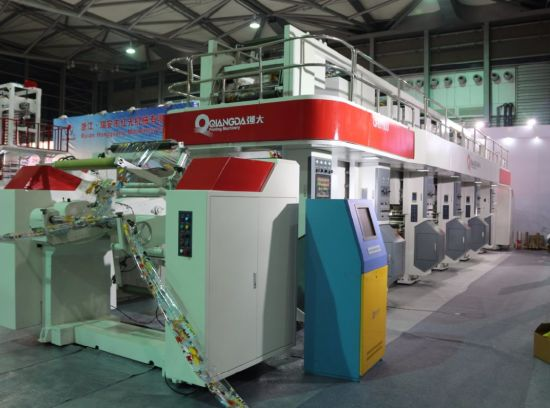 Electronic Line Shaft System (ELS) Rotogravure Printing Machine 320m/Min