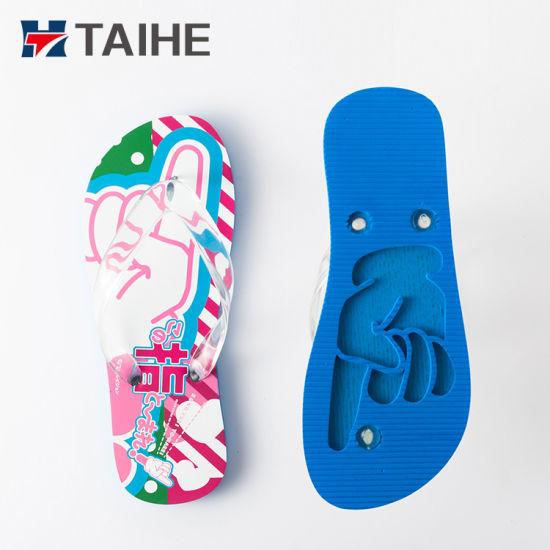 676672288e5d Wholesale Great Printing Slipper EVA Foam Soft Sandals Bling Flip Flops