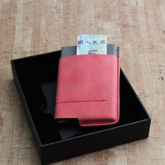 Automatic Pop-up Bank Credit Card Holder Case