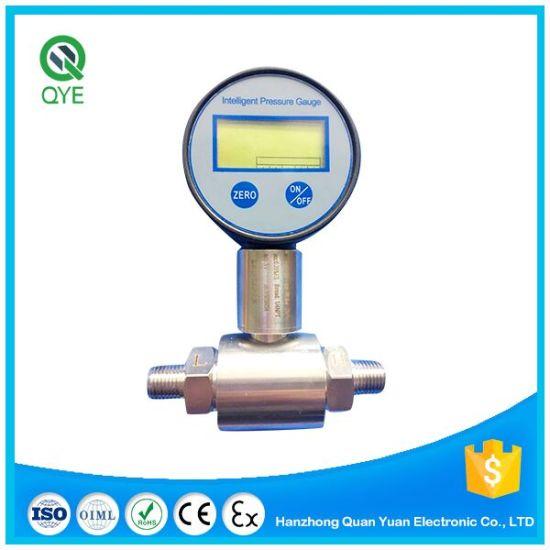 Digital Pressure Gauge for Gas and Liquids