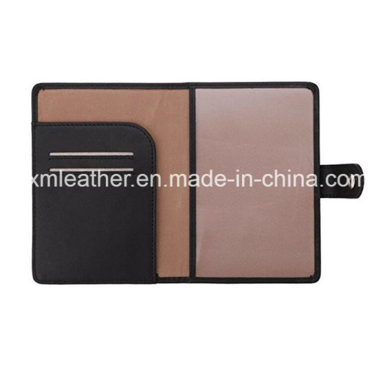 Leather Passport Holder Travel Wallet for Men & Women pictures & photos
