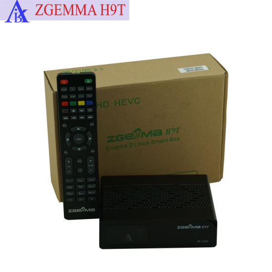 China 4K TV Decoder DVB T2 with IPTV Stalker Zgermma H9t - China Set