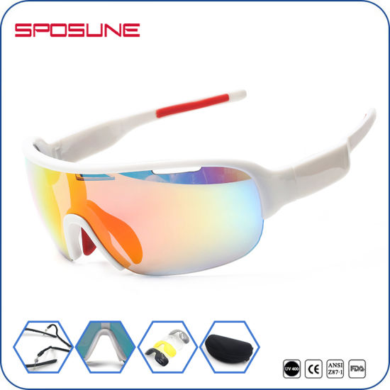 45b68486e14 Big Lens Anti-Scratch High Vision Polarized Sport Sunglasses pictures    photos