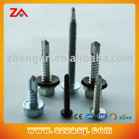Leite All Kinds of Customized Aluminum Color Screw, High Quality Flat Head  Sheet Metal