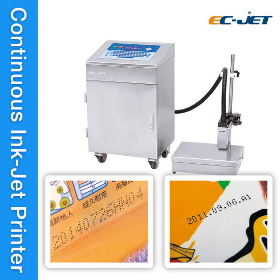 Ink Jet Eco Solvent Continuous Inkjet Printer For Candy Package EC 920