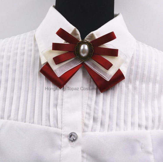 2018 New Hot Brooches Zinc Alloy Bowknot Brooch Bow Tie Corsage Collar  (BR-02 31a51151f477