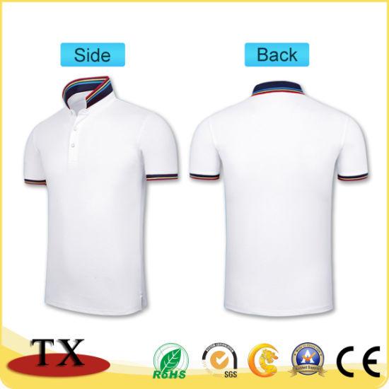 China Cotton Plain Embroidered Sports Polo Shirt China T Shirts