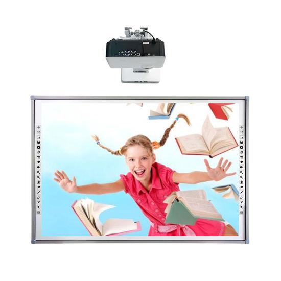 Education Infrared 10 Touch Teaching Pizarra Digital Board Smart Whiteboard