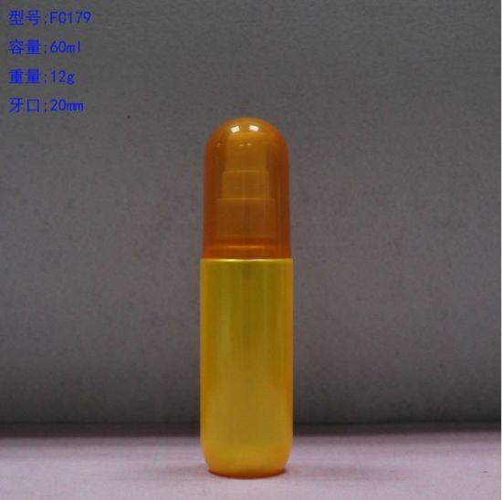 Plastic Pet Bottle with Pump Cap