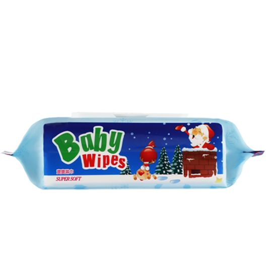 Spunlace Nonwoven Kids Cleaning Wet Wipes Private Label Baby Wipes