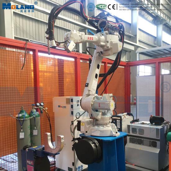 High Pressure and Vacuum Type Welding Fume Extractor for Robot Welding