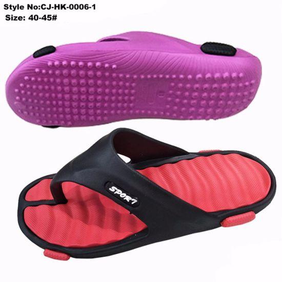 ec27042b9 China Anti Slip EVA Two Tone Flip Flops for Men Fashion New Styles ...