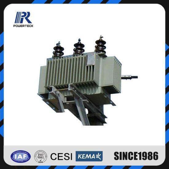 11kv 33kv 500kVA Pole-Mounted Hermetically Seal Power Distribution Transformer