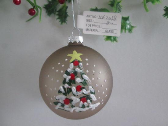 2020 Hot Selling Glass Ball Chritsmas Tree Decoration