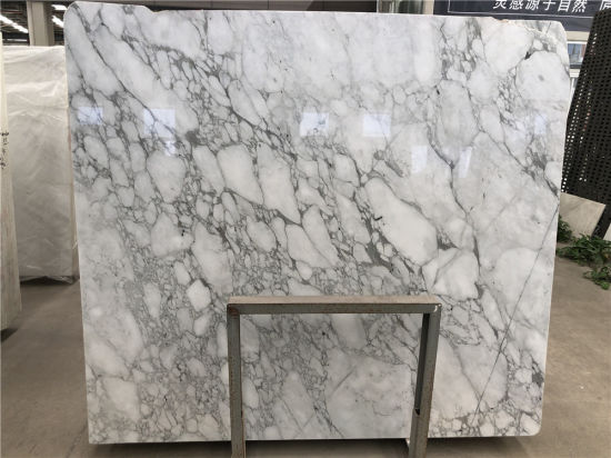 Chinese White Arabescato Carrara Marble Slabs For Interior Kitchen Countertop Wall Floor Decoration China Arabescato Marble White Marble