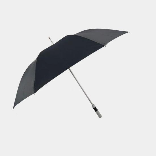 Windproof Light Weight Auto Open Custom Logo Aluminium Umbrella