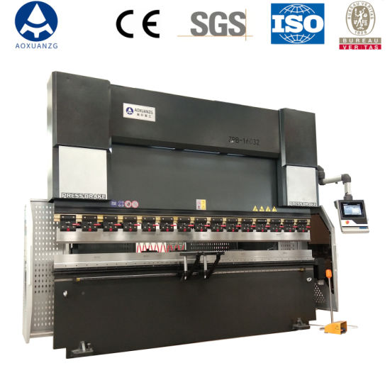 Factory Wholesale 8+1 Axis Hydraulic CNC Press Brake Bending Machine for Carbon Steel