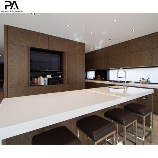 China Luxury Furniture Decoration Design L Shaped Modern Melamine Kitchen Cabinets China Kitchen Cupboard Home Furniture