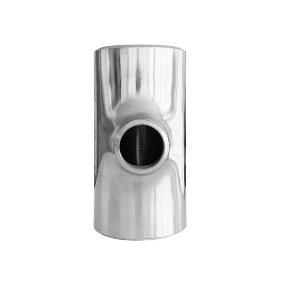 Butt Weld Stainless Steel Water Pipe Tee Connector Sanitary Fitting