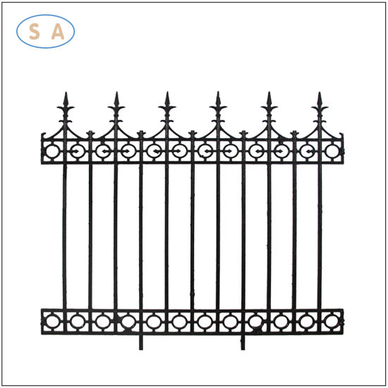 OEM Casting Iron Garden Fence for Moden Housing Fashion Decoration