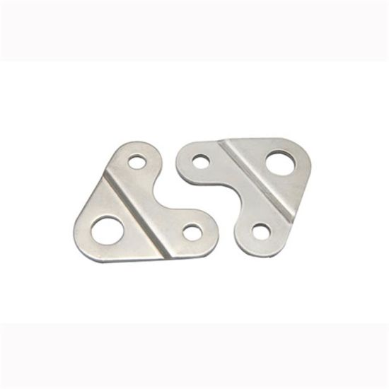 Custom Metal Fabrication Sheet Metal Angle Bracket Parts pictures & photos