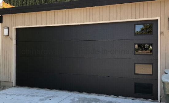 China Wholesale Cheap Prices Specialty Modern 9x8 Security Insulated Black Aluminum Frame Garage Door China Side Sliding Doors For Garage Side Sliding Door Hardware
