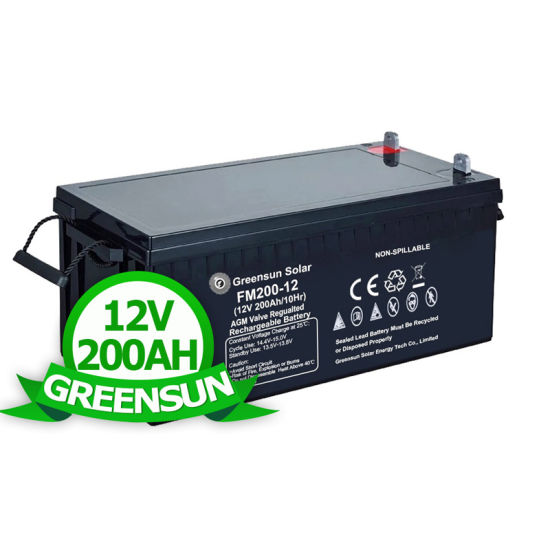 Factory Wholesale Deep Cycle Battery 12V AGM 100ah 150ah Home 200ah 250ah Batteries