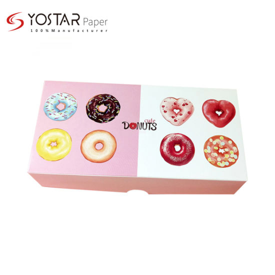 Custom High Quality Exquisite Dessert/Cookie Food Packing White Cardboard Paper Box