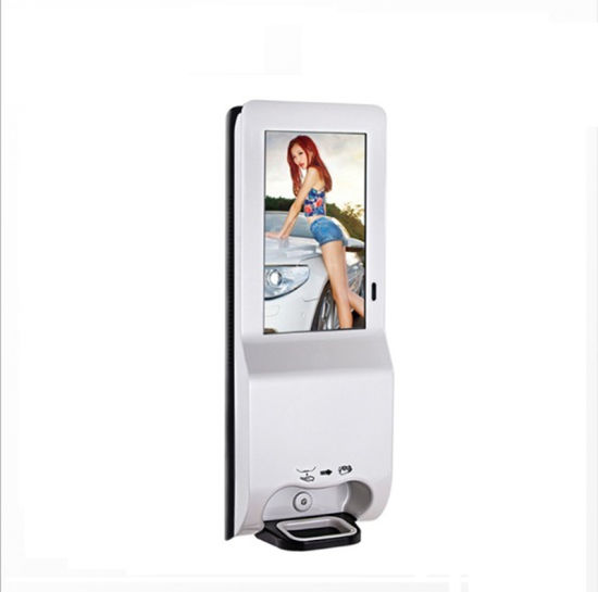 Floor Stands Digital Signage Double Sided Display Wall Mounted Sanitizer Dispensers Hand Sanitizing Billboards
