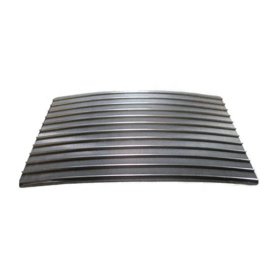 SUS 304 316 Stainless Steel 100 200 300um Sieve Bend Screen