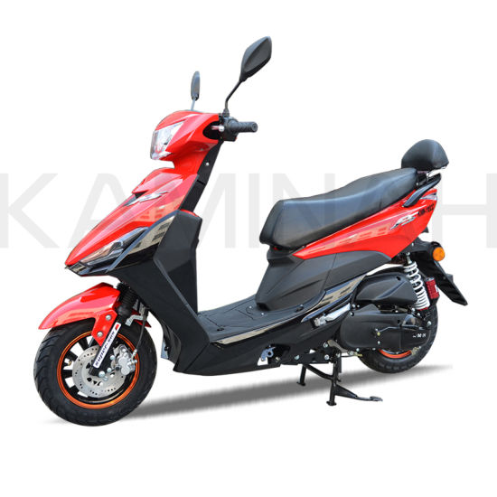 China 110cc Gas Scooters Motorbike Motorcycle Gasoline Scooter Qg pictures & photos