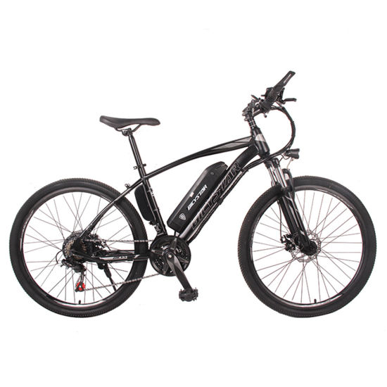 China Popular 2021 Electric Mountain Bike Carbon Lithium Power Full Suspension Bicystar Mountain Electric Bicycle for Sale