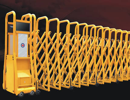 House Main Gate Designs with Telescoping Sliding Gates