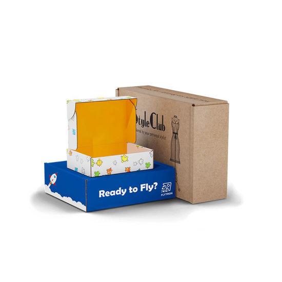 Customized Color and Logo Plane Shape Box