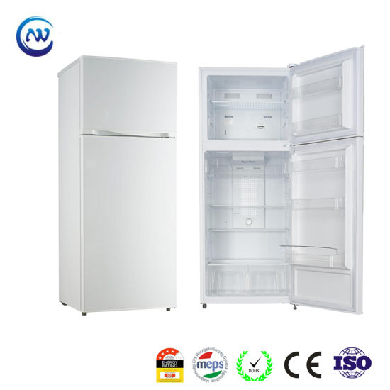 420L Home Appliances Fridge a+ No Frost Reversible Door Twist Ice Maker Optional Refrigerators Freezers with Water Dispenser with Gems Meps Approved Kd-420fw
