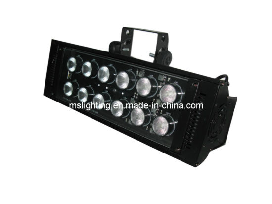 12*18W Rgbwauv 6in1 Multi Color LED Strobe Light