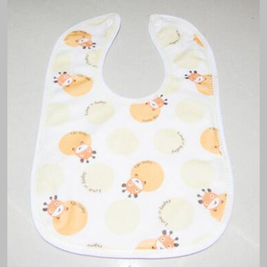 China Factory Printed Baby Saliva Towel