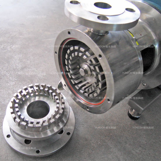 Inline & Pipeline High Shear Emulsion Pump pictures & photos