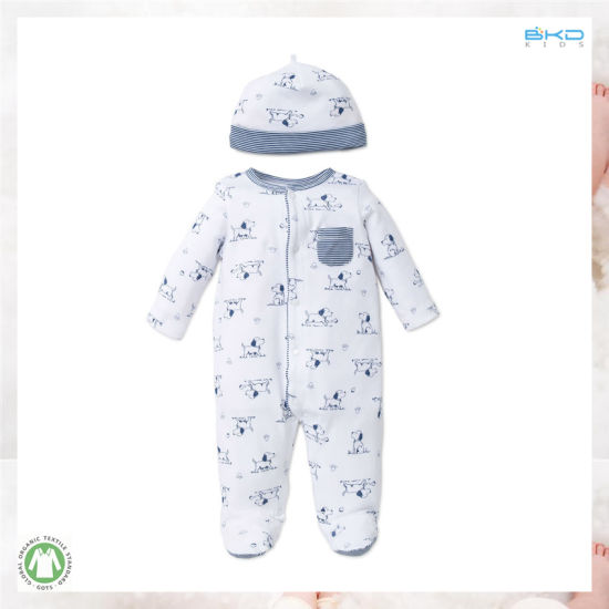 Dod Printing Baby Clothes 2-PC Baby Wear Set
