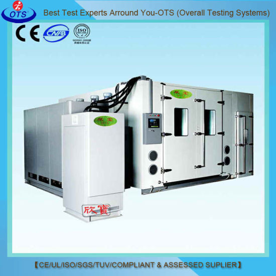 Walk-in Thermal Impact High Low Temperature Shock Test Chamber