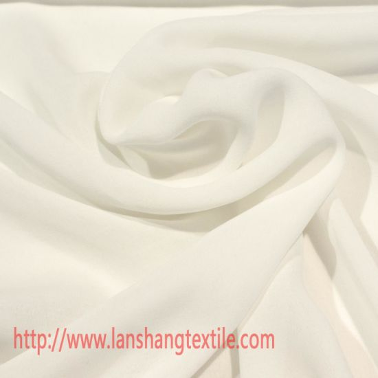 Polyester Chiffon Dress Fabric for Skirt Garment Curtain pictures & photos