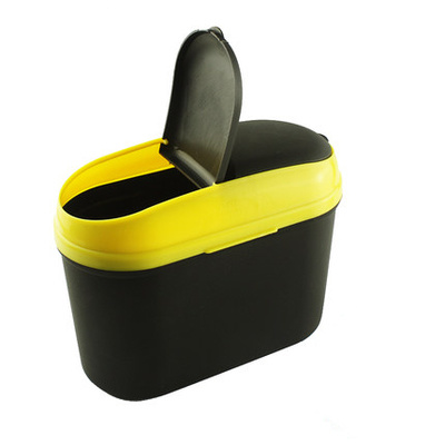 Yellow Plastic Eco-Friendly Waste Bin Can for Sale pictures & photos