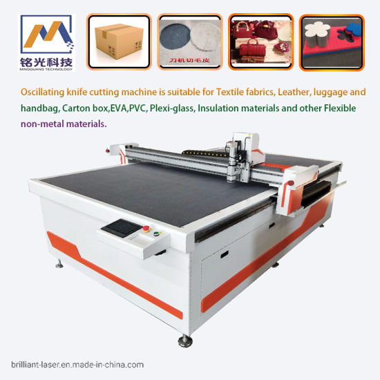 Automatic CNC Cloth Fabric Leather Textile Cutting Machine for Garment Apparel Material Pattern Cutting Plotter Cutter with Ce Factory