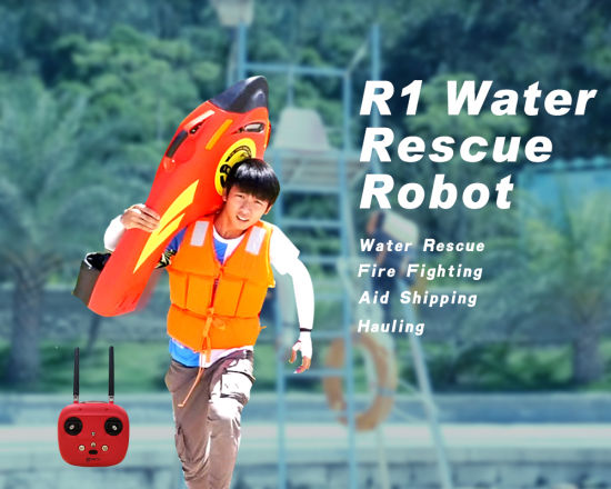 Fzblue Portable Intelligent Water Rescue Robot R1