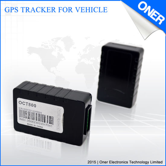 china hidden gps tracker with working time management oct800 d